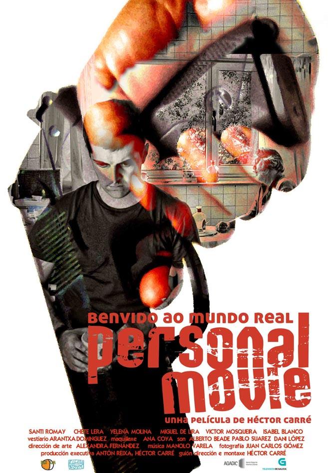 Cartel Personal pistola silueta comp