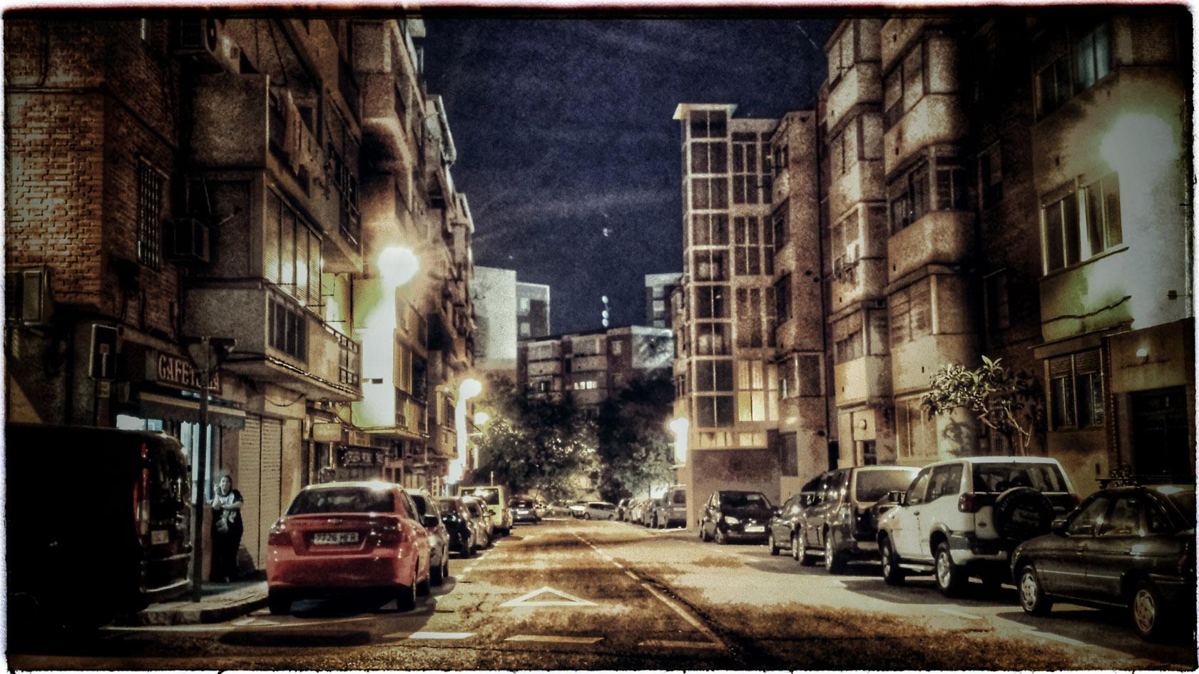 Nesta rúa do barrio de Hortaleza de Madrid viven algúns dos protagonistas.